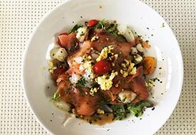 Salade fraîcheur de La Table de Lyse