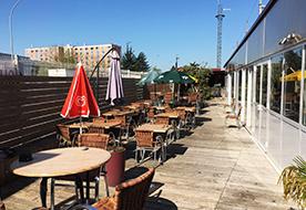 Terrasse restaurant Lyon Est La Table de Lyse
