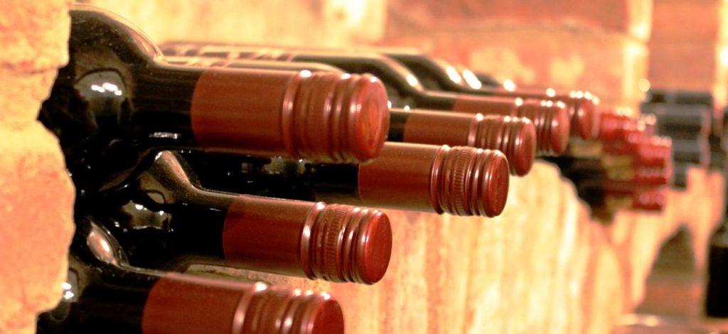 Cave à vins du restaurant la Table de Lyse sur Lyon Est